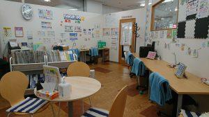 庭瀬校教室内模様替え